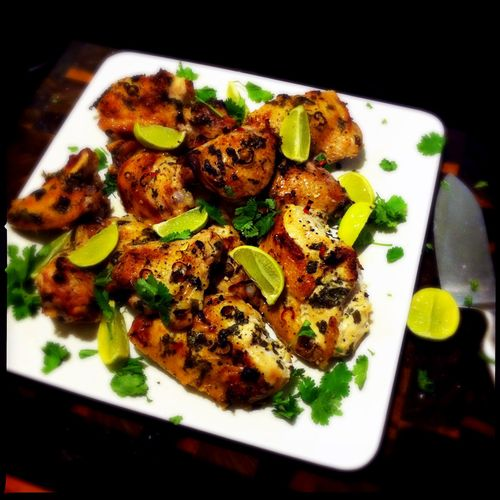 Lime-+-coriander-chicken