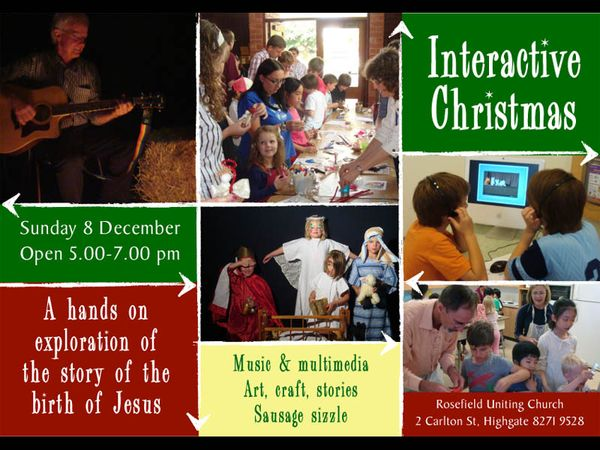 Interactive Christmas Poster PPT