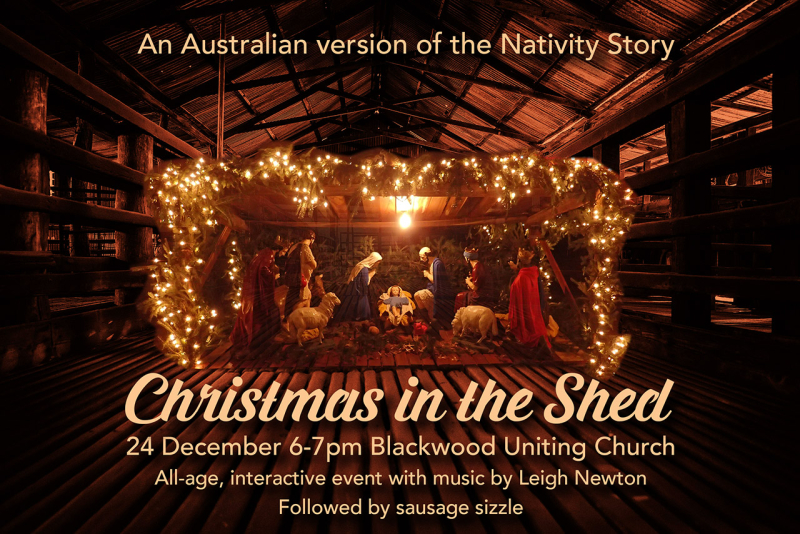 Christmas in the Shed PPT