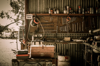 Shed-workbench